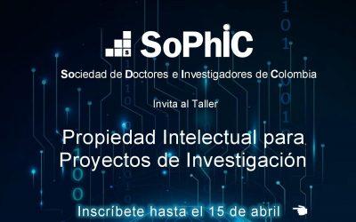 Taller Propiedad Intelectual para proyectos de investigación